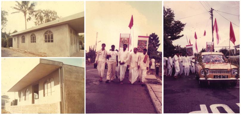 Hall inauguration 1989