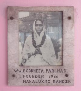Widow Boodheea Parhlad